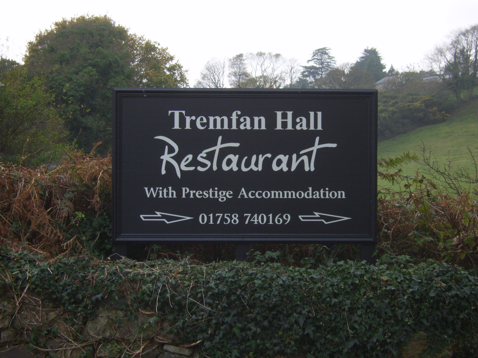 Tremfan Hall Restaurant